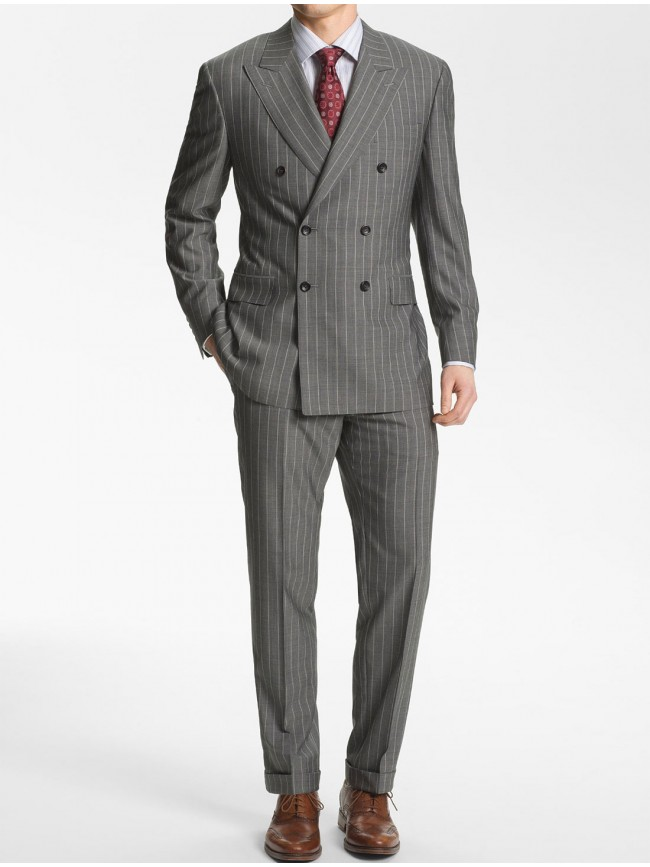 double-breated-chalk-stripe-grey-suit