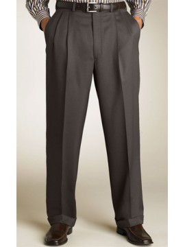 Double pleat full cut Trouser