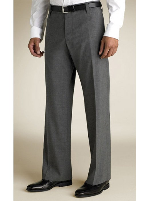 7121b47891 Shark-skin Grey Bootleg pants