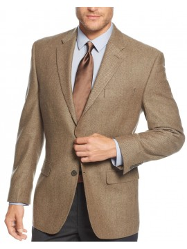 Herring Bone single Breasted Jacket