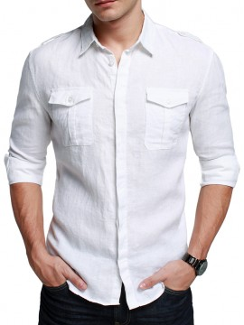 Stylish Men Linen Shirt
