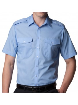 Pilot Shirt Short Sleeves