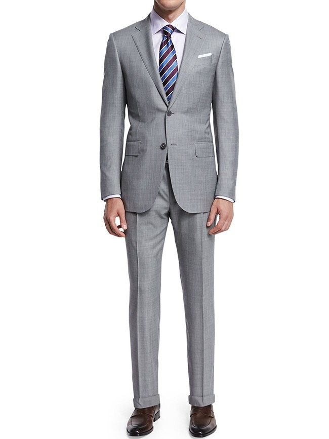 Sharkskin Two-Piece Suit