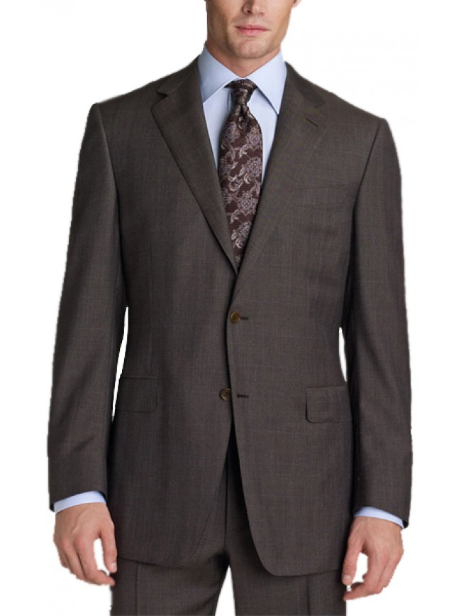 Single breasted 2 button all occasion plaids suit