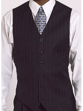 Six button short business casual look waist coat