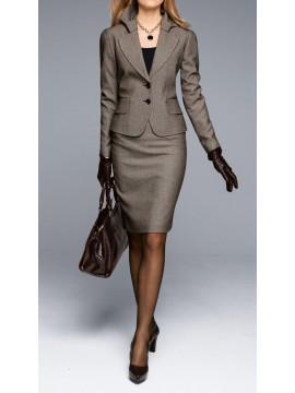 Women Pencil skirt suit