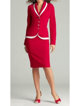 Women Skirt Suit with Details