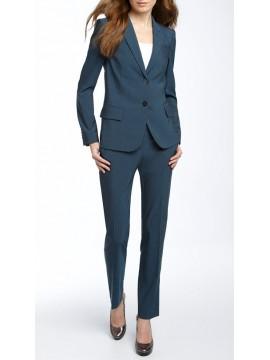 Single breasted Jacket skinny trouser women suit